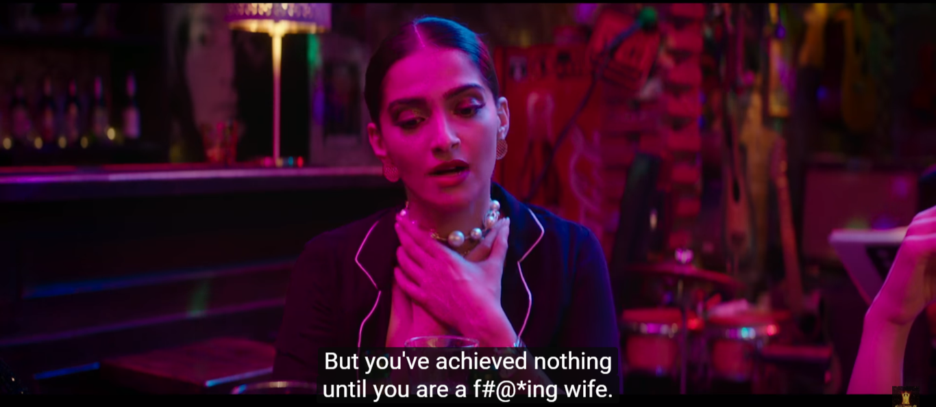 abusing sonam kapoor veere di wedding