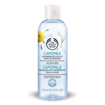 3 The Body Shop Camomile Waterproof Eye   Lip Make Up Remover