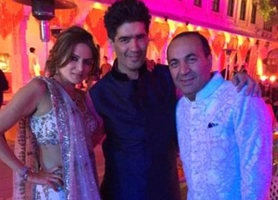 Sanjay Hinduja and Anu Mahtani expensive indian weddinf