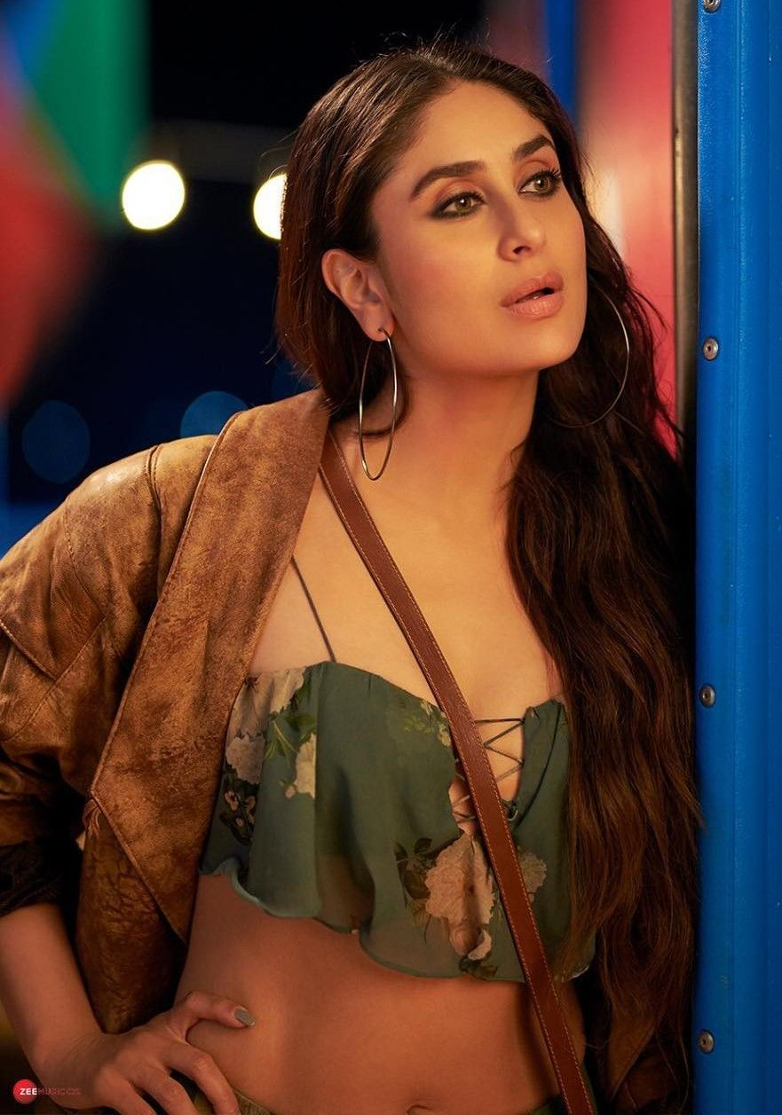 veere di wedding trailer looks kareena floral blouse with suede jacket