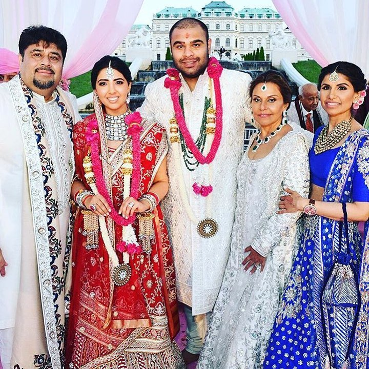Sonam Vaswani and Navin Fabiani expensive indian wedding