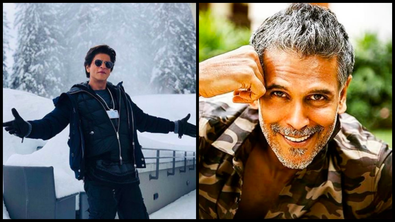 shahrukh khan milind soman celebrities who are of the same age inside 1