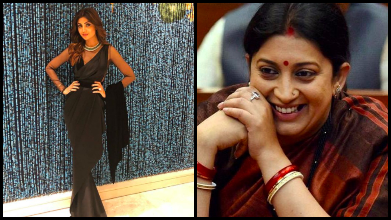 smriti irani and shilpa shetty bollywood celebrities who  are the same age inside 6
