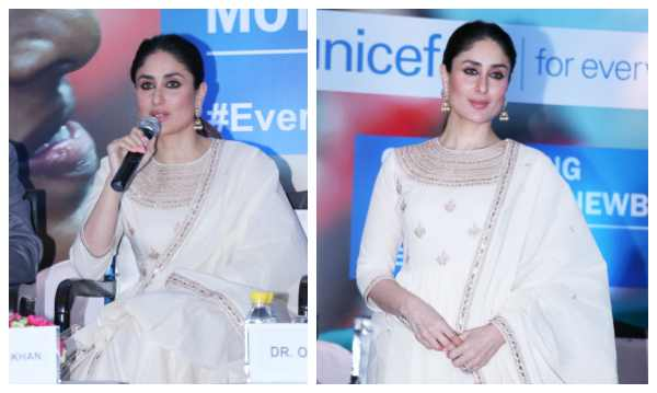 Kareena at unicef meet