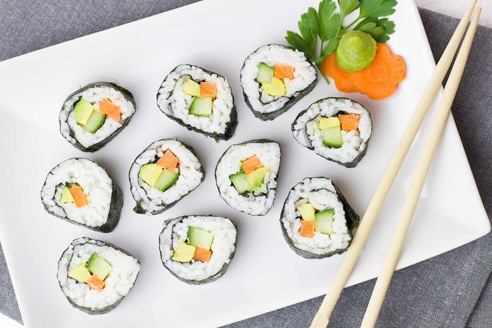 13 sushi foods making you gain weight