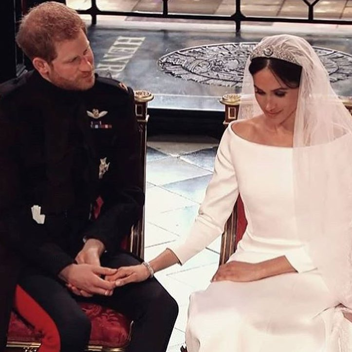 royal wedding hand