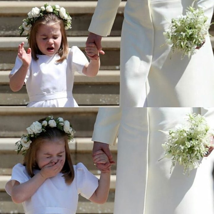 1 princess charlotte at meghan markle's wedding