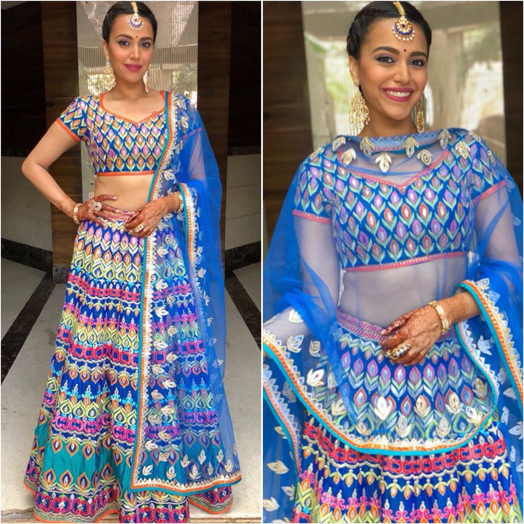 9. swara too much colour too much print  fashion habits bollywood celebs should drop