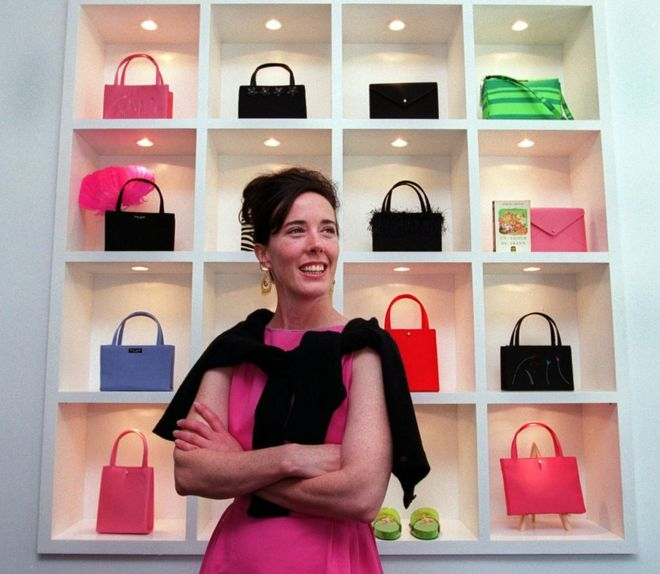 0 kate spade - with her collection of handbags