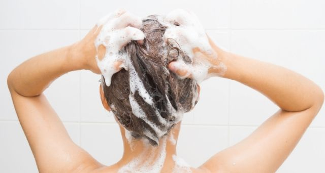 Woman-Shampooing-Hair