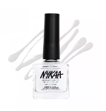 2 nykaa nail enamel top coat 105