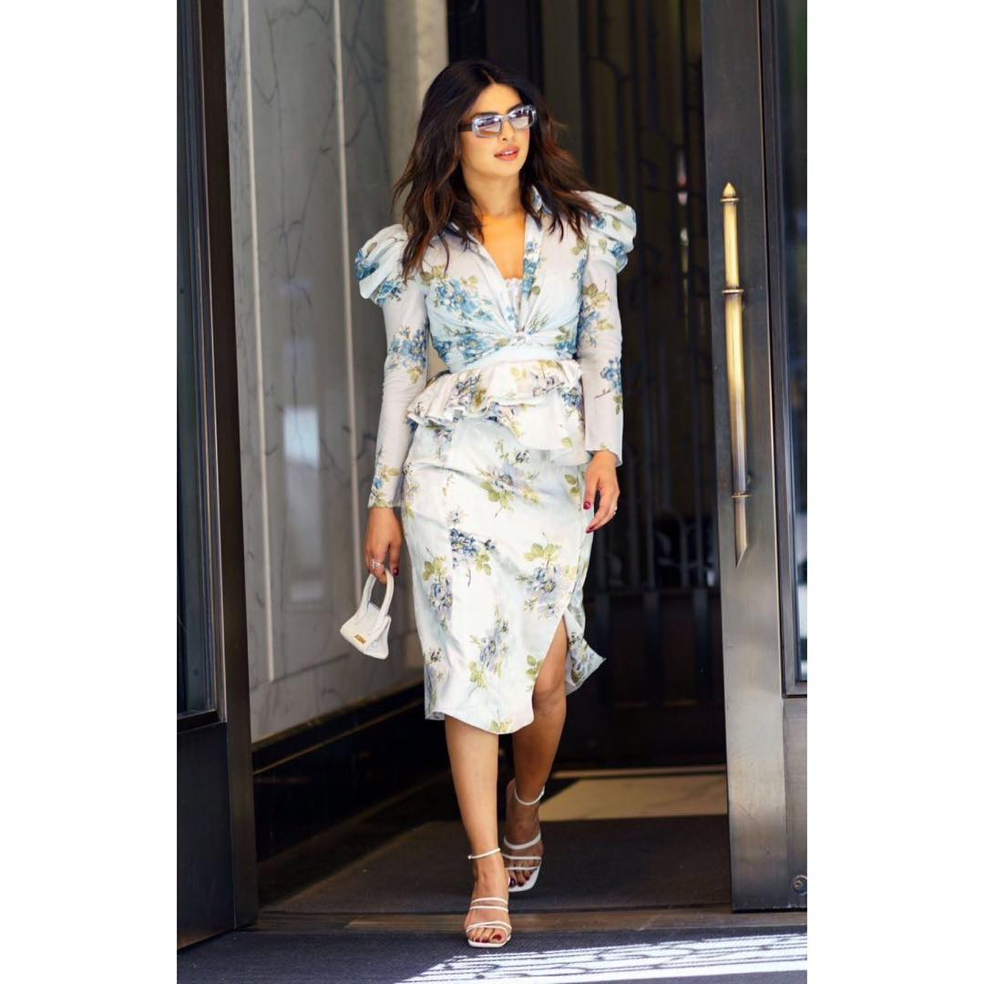 1 dresses - priyanka chopra white floral dress