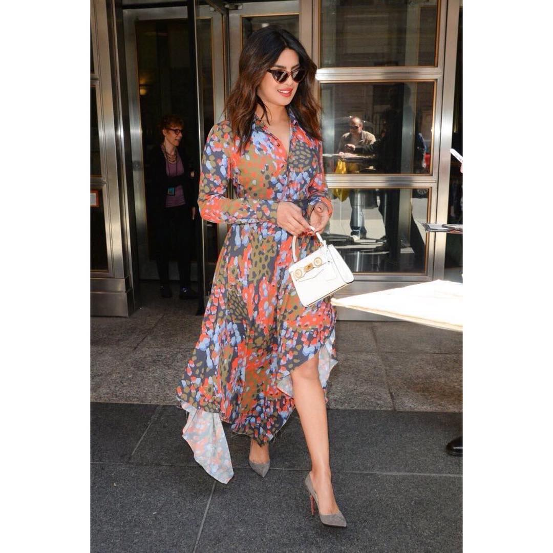 2 dresses - priyanka chopra asymmetric dress