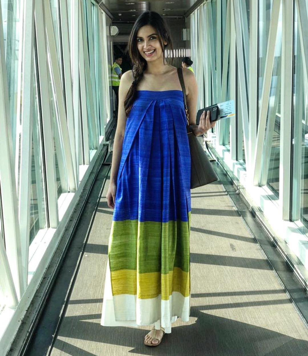 9 dresses - diana penty tube colourblocked dress