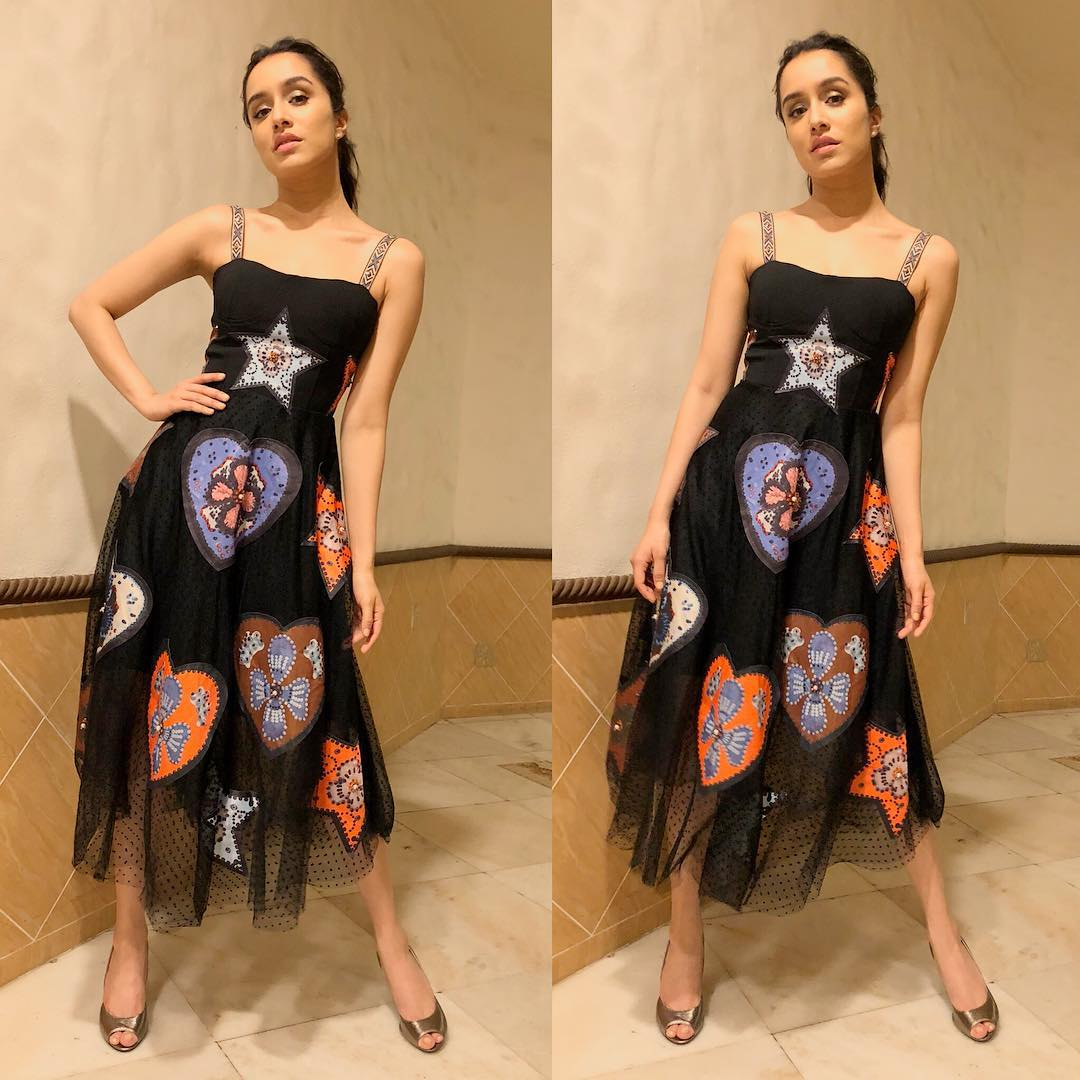 15 dresses - shraddha kapoor black dress
