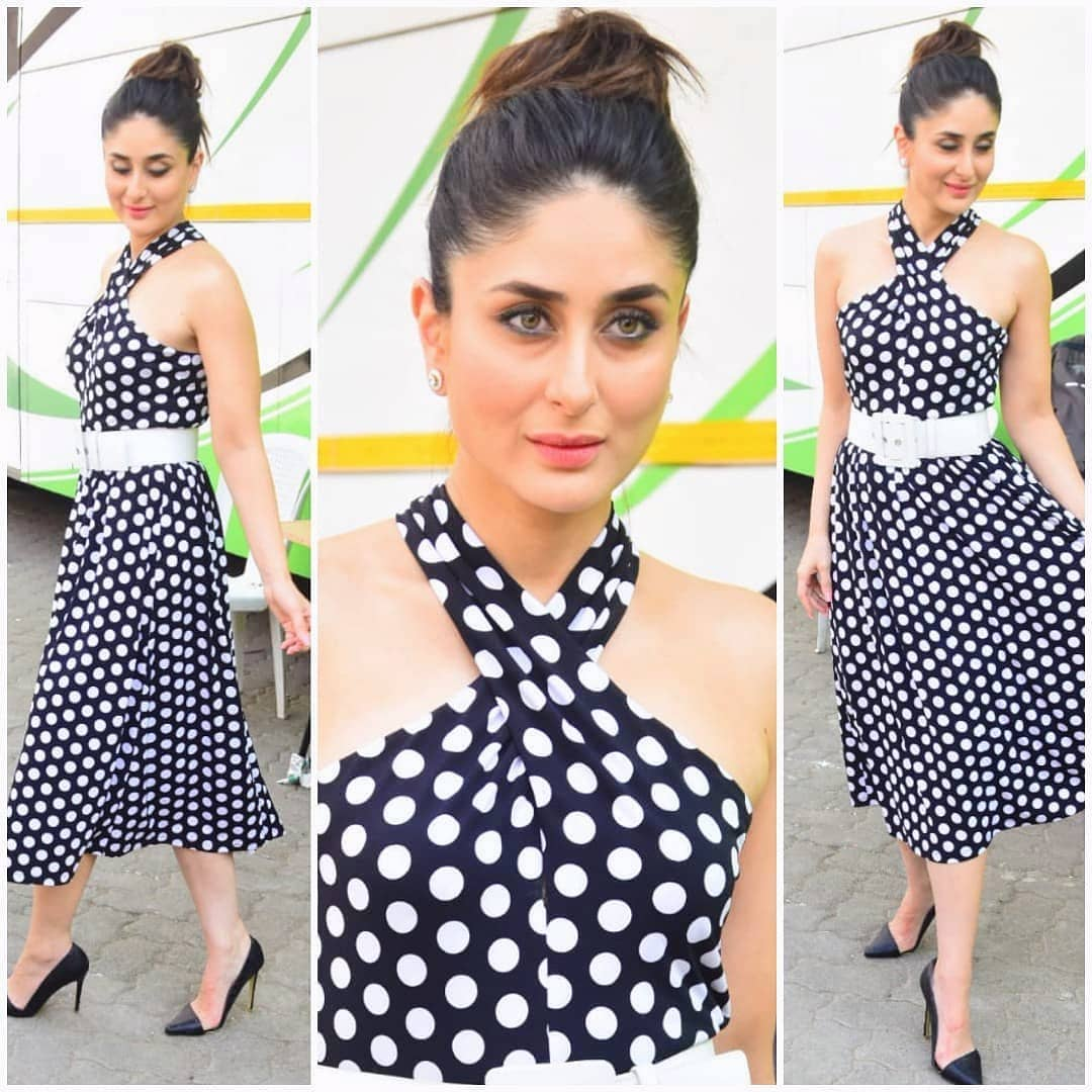 21 dresses - kareena kapoor polka dot dress