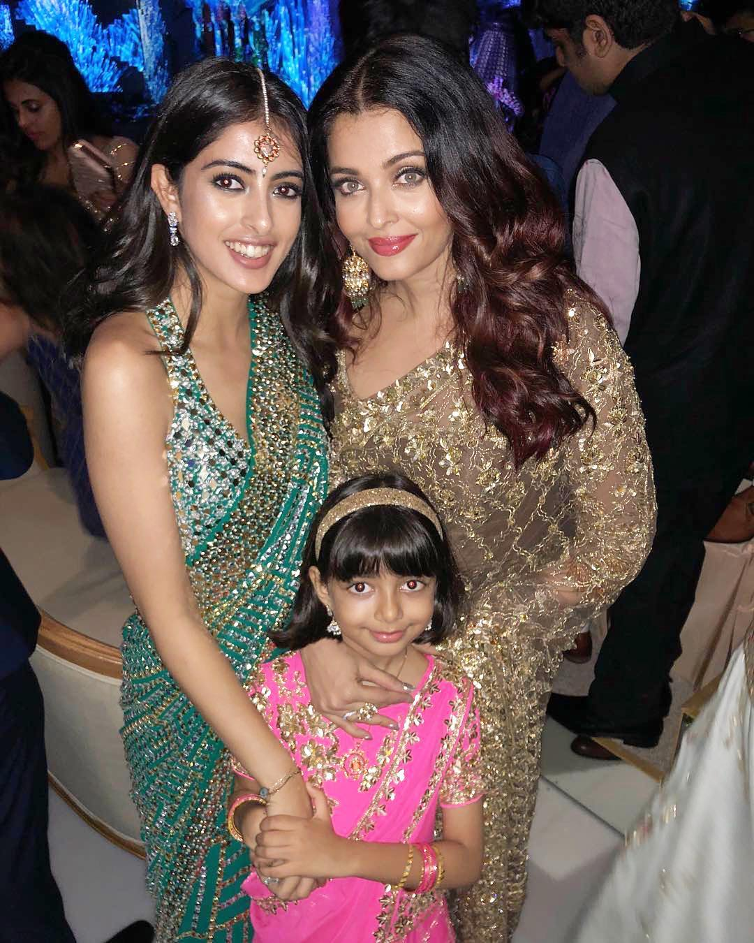 Aradhya Bachchan and ashwarya  ambani engagement star kids vs parent