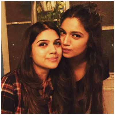 Bhumi and sister