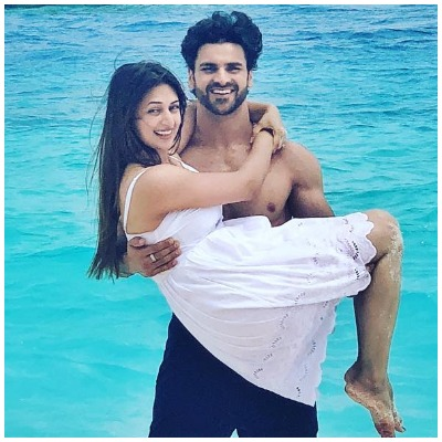 Divyanka and Vivek in Maldives
