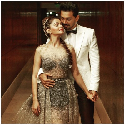 Rubina Dilaik and Abhinav Shukla reception