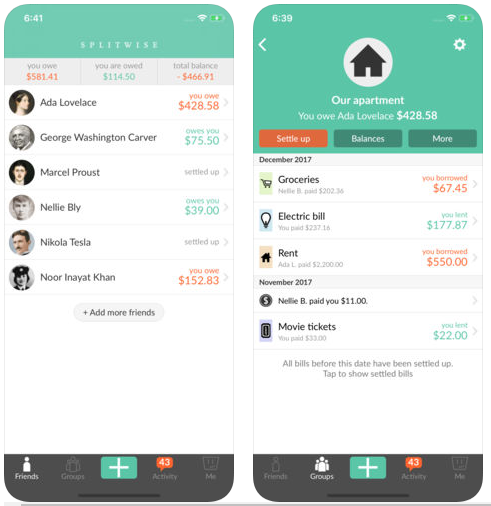 02 splitwise money apps