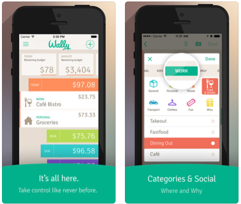 07 wally lite money apps