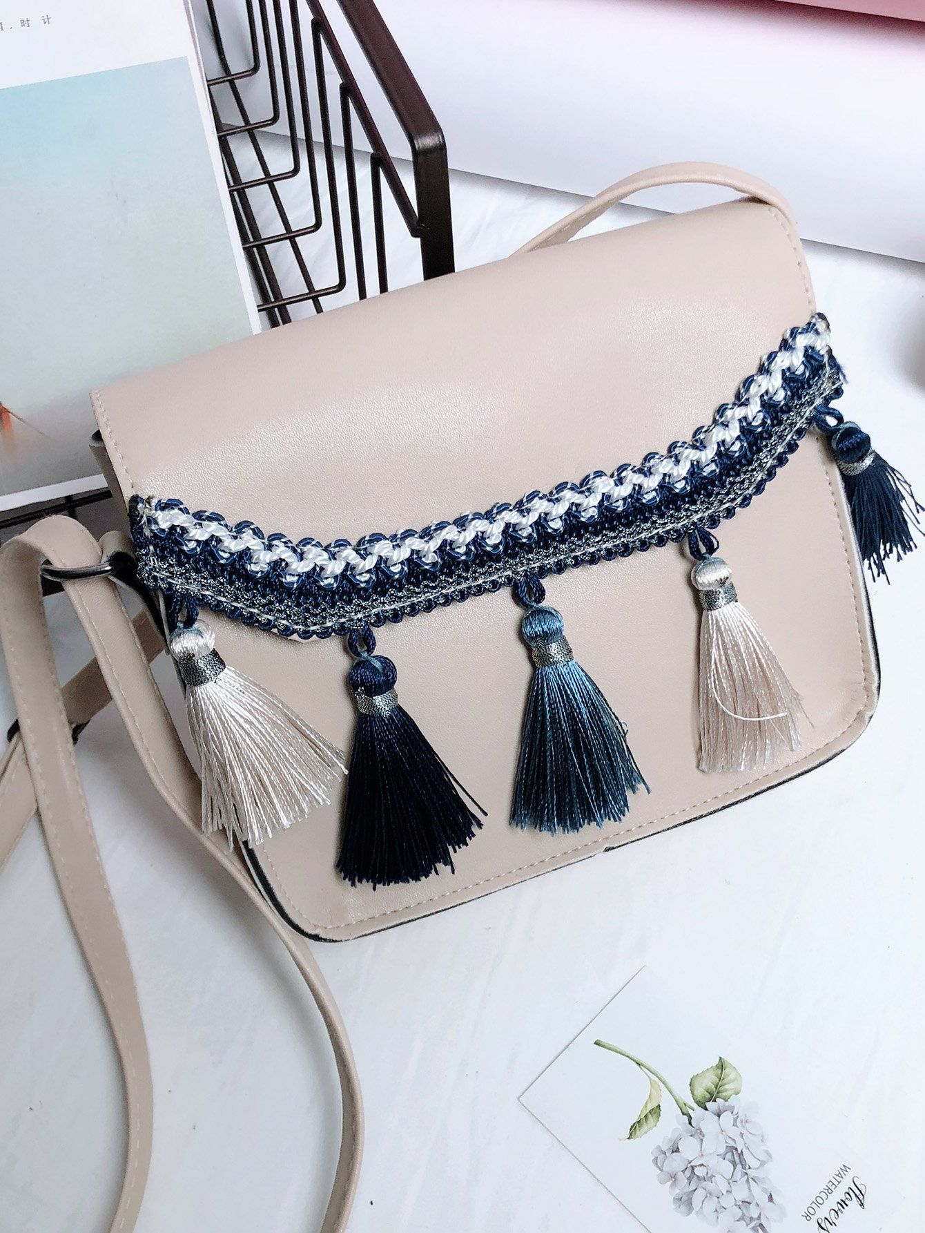 2 romwe crossbody bag  with desi outfits