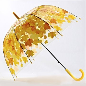 1. Autumn Leaves Umbrella With A Mushroom Arch