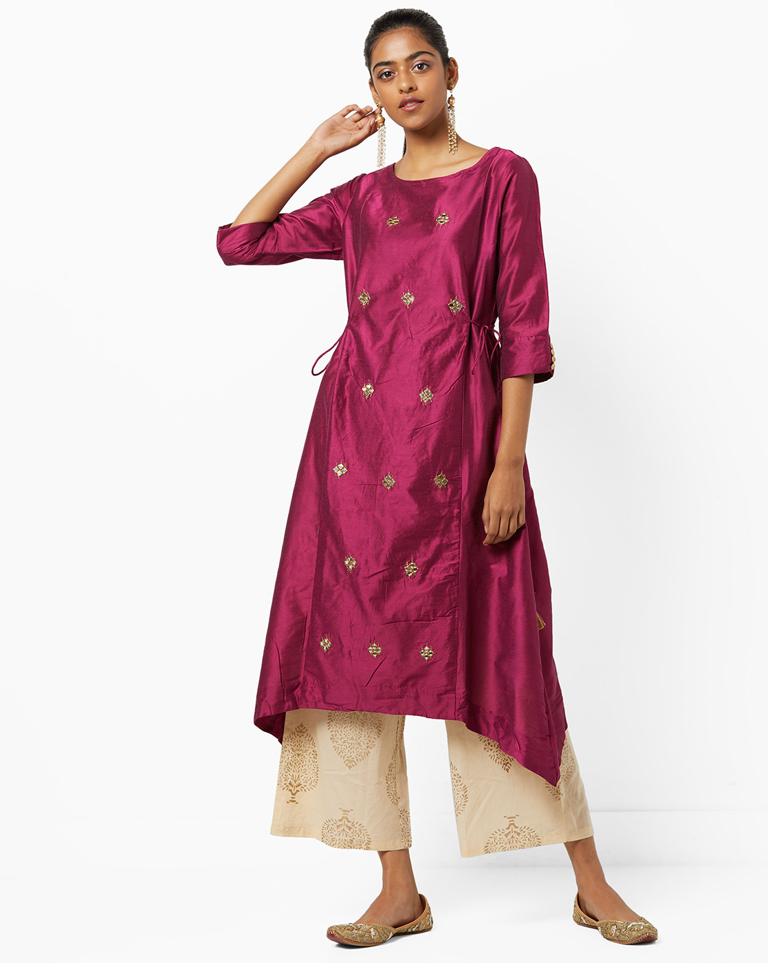 1 kurta set avaasa  pink indian pieces