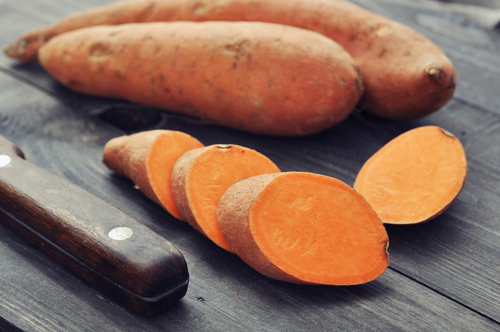 7 sweet potato