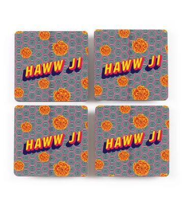 accessories  quirky  filmy  desi  bollywood  makeover  home internal coasters