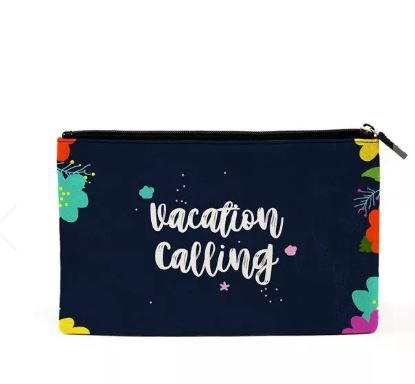 vacay calling pouch