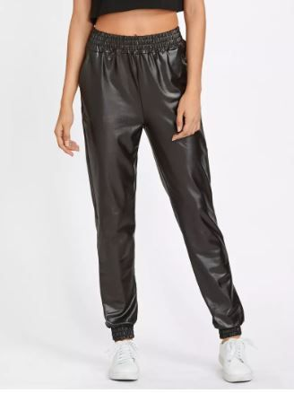 2 leather pants