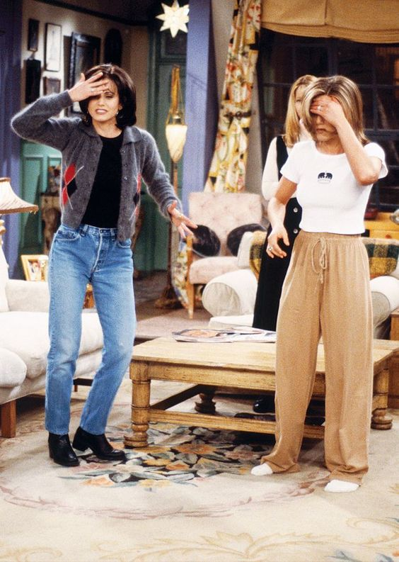 4 rachel and monica - fighting over a date