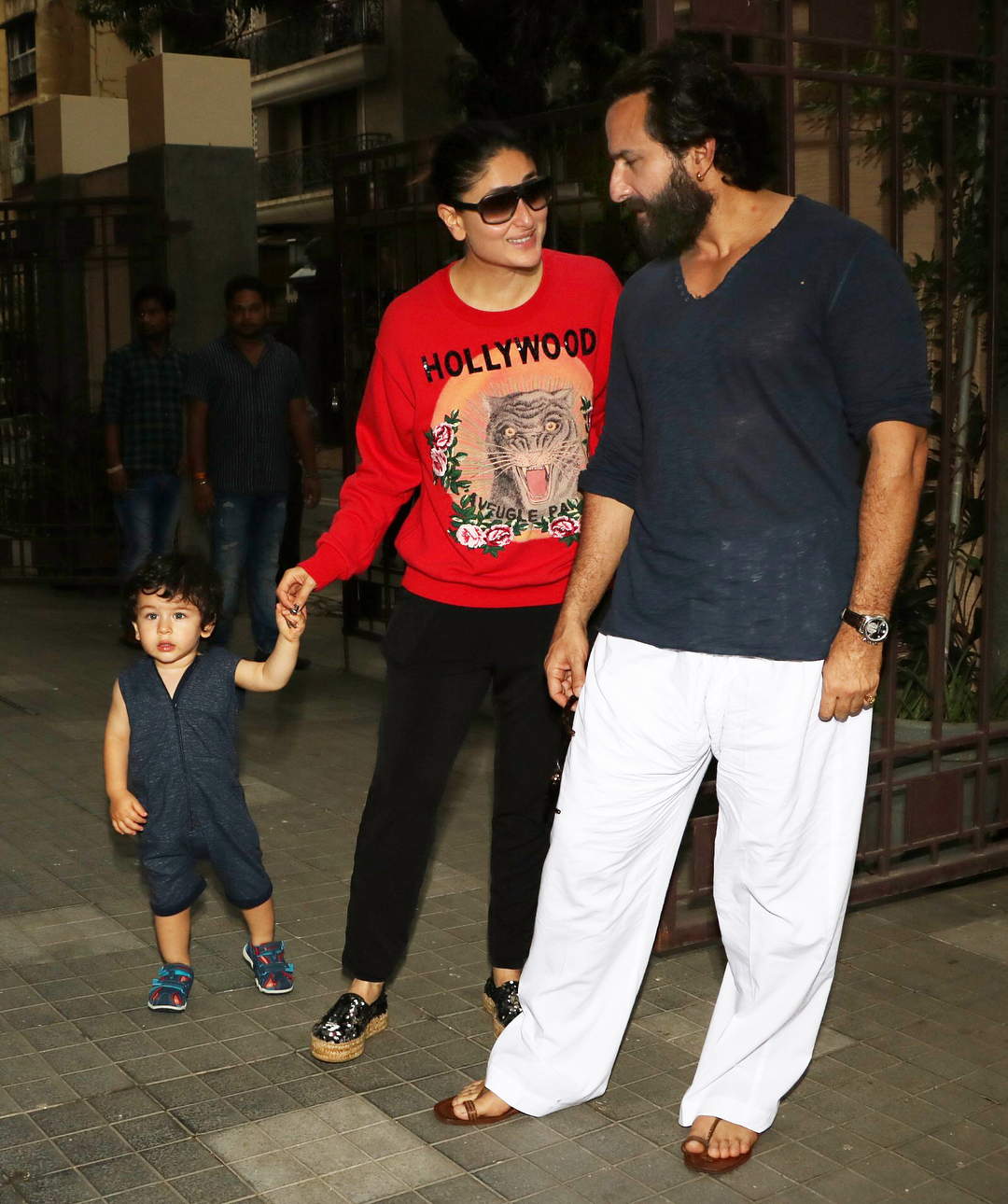 1 taimur ali khan - saif and kareena kapoor