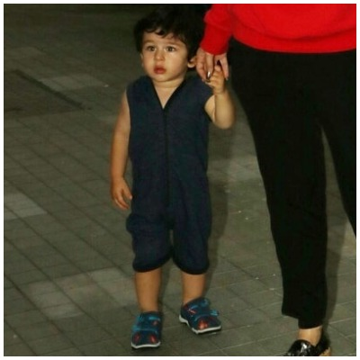 Taimur Ali Khan in playsuit