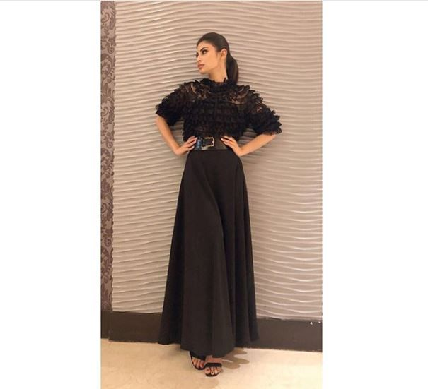 3 mouni roy - gold promotions looks