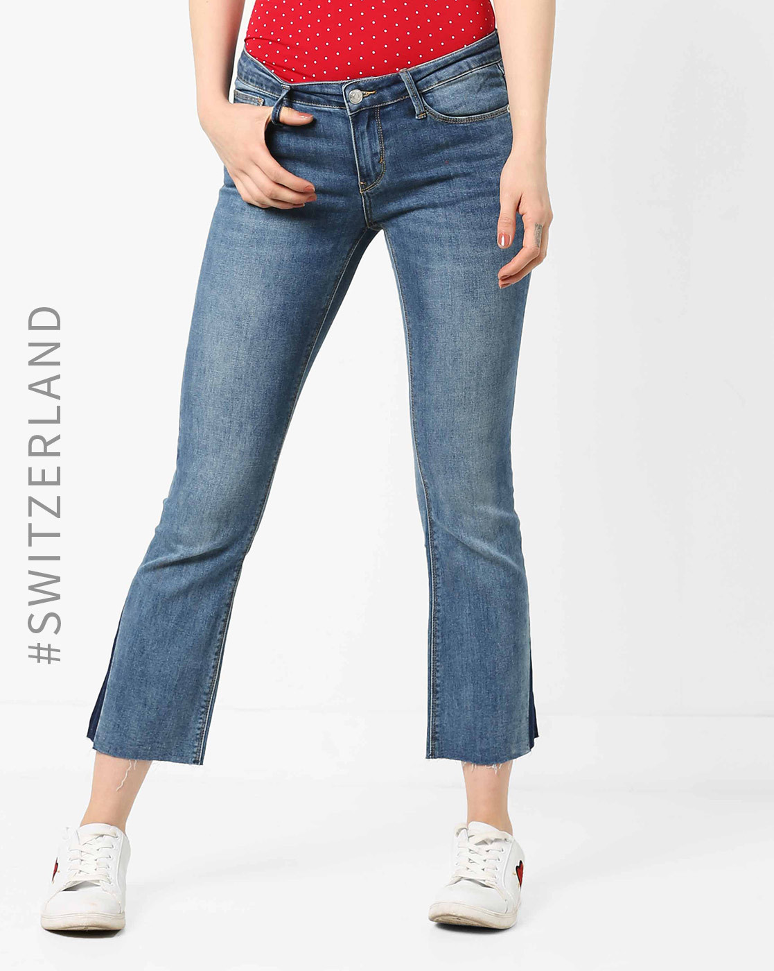 1 flared jeans