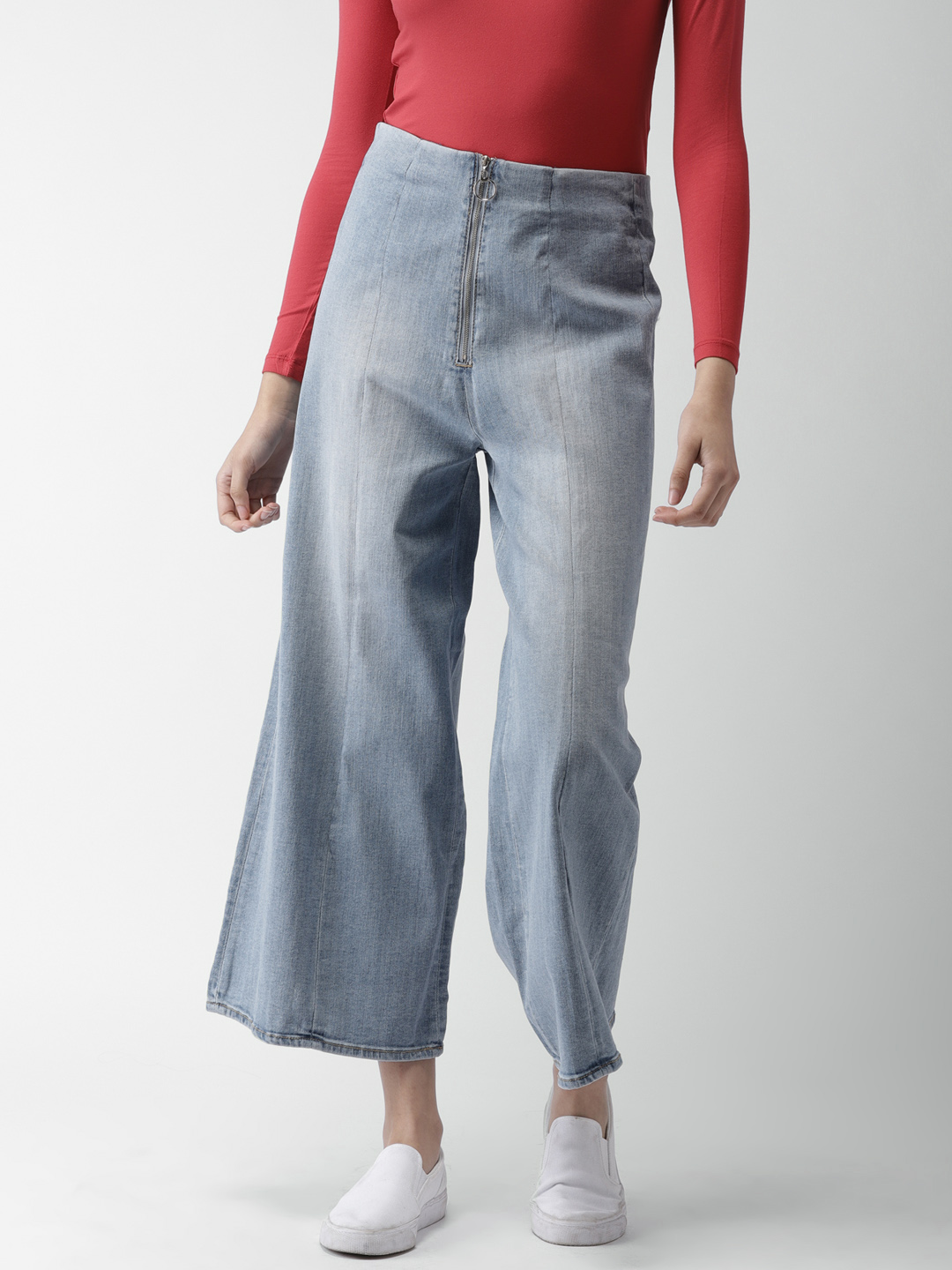 2 flared jeans
