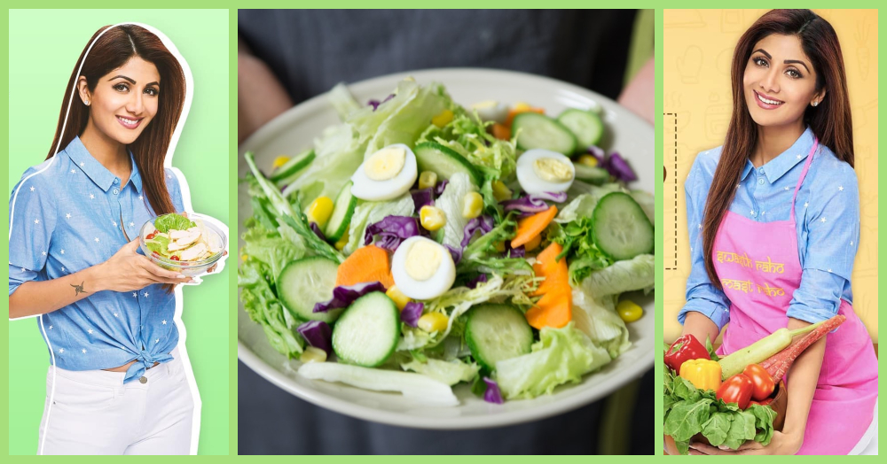 Salad eating to reduce belly fat