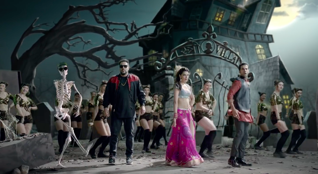 The New Badshah Song  'Ao Kabhi Haveli Pe' 5