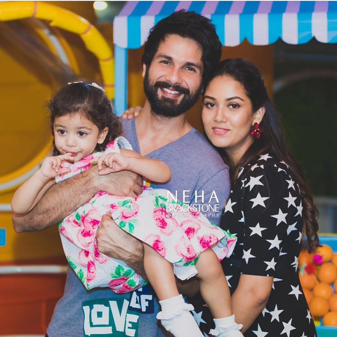 1 misha kapoor birthday - shahid and mira