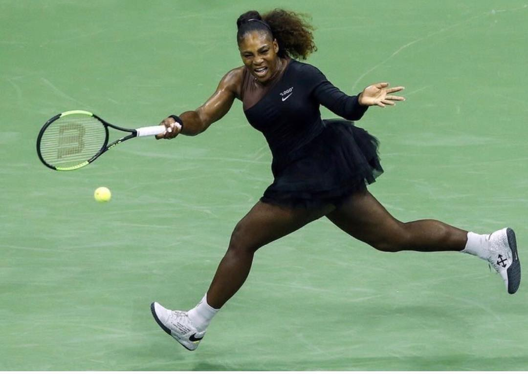 4 serena williams - at the 2018 US Open tennis match