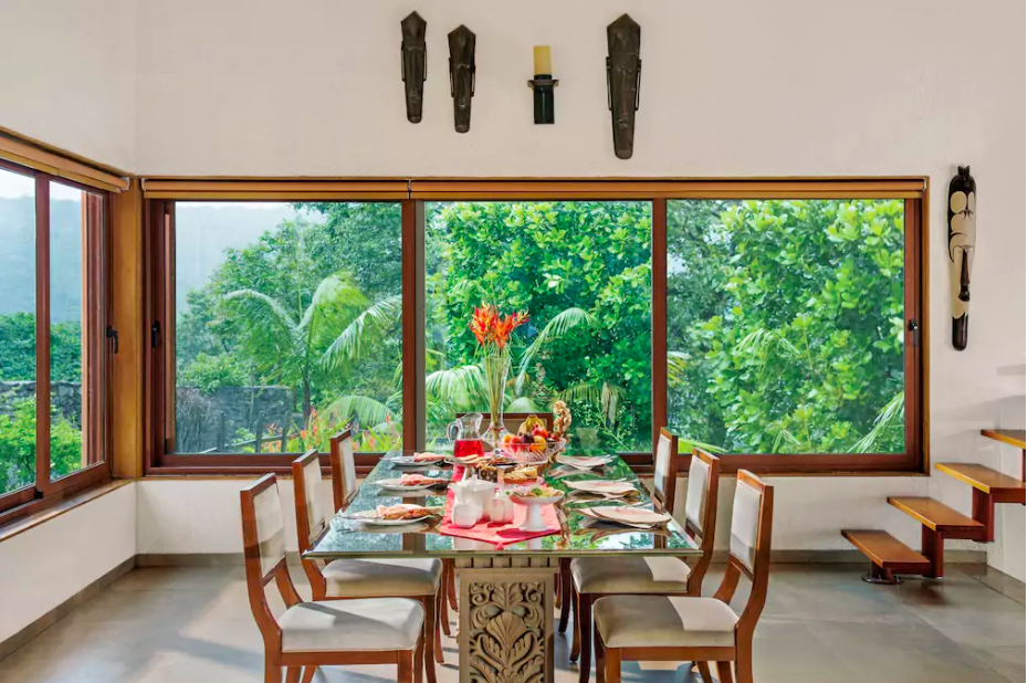 1 Airbnb in Lonavala Dining Area