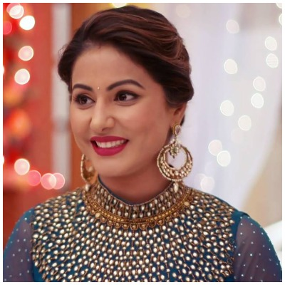 Hina Khan's traditional look