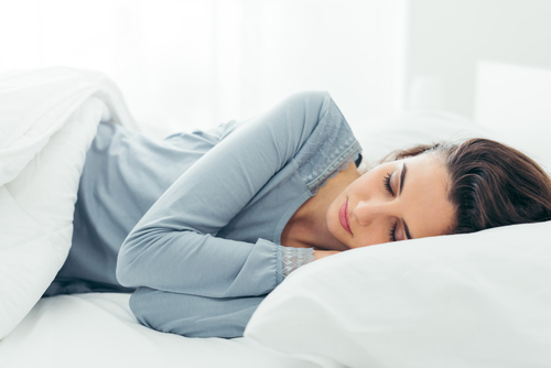Proper sleep for reducing belly fat