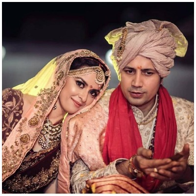 Sumeet Vyas and Ekta Kaul wedding