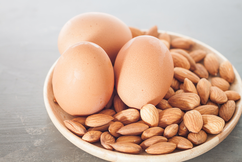 facial at home eggs and almond