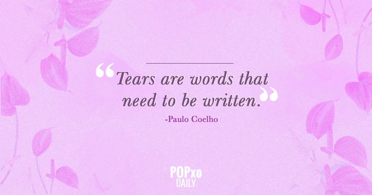 2. Quotes for Grief-Tears Are words that need to be wrtten
