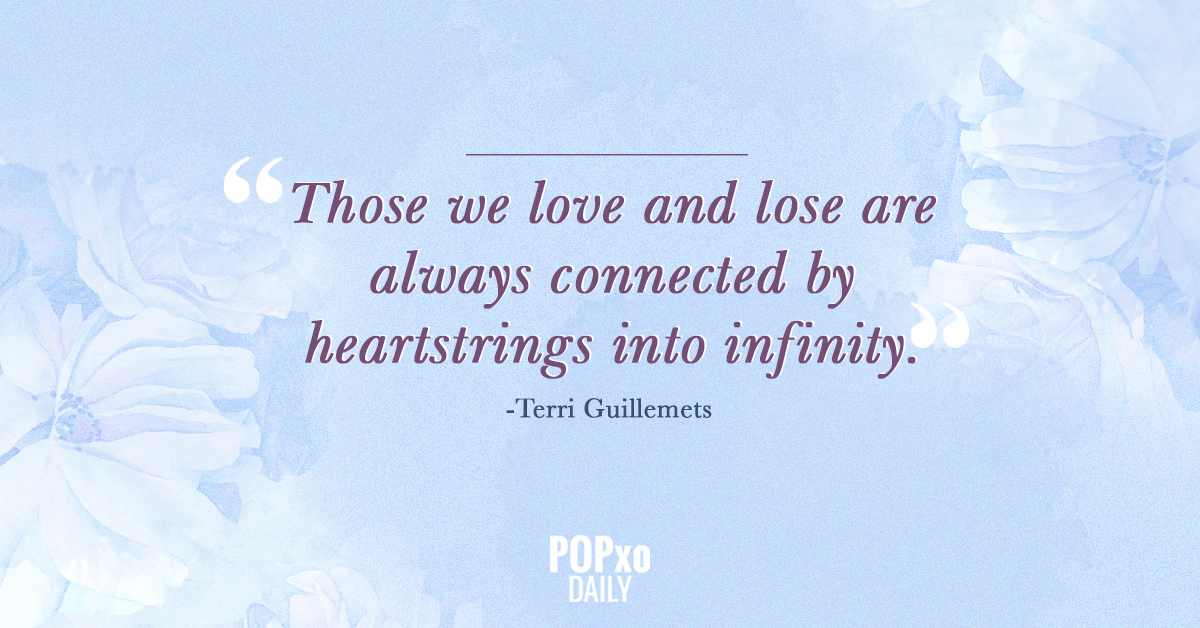 4. Quotes for Grief- Hearstrings into infinity
